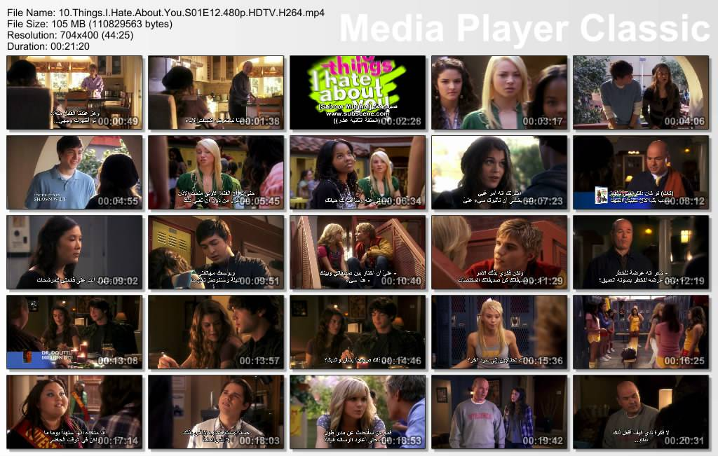 Ten Things I Hate About You - Season 01 Thumbs-S01E12-480p