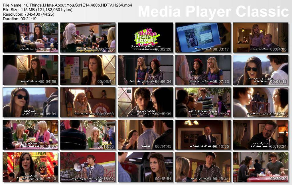 Ten Things I Hate About You - Season 01 Thumbs-S01E14-480p