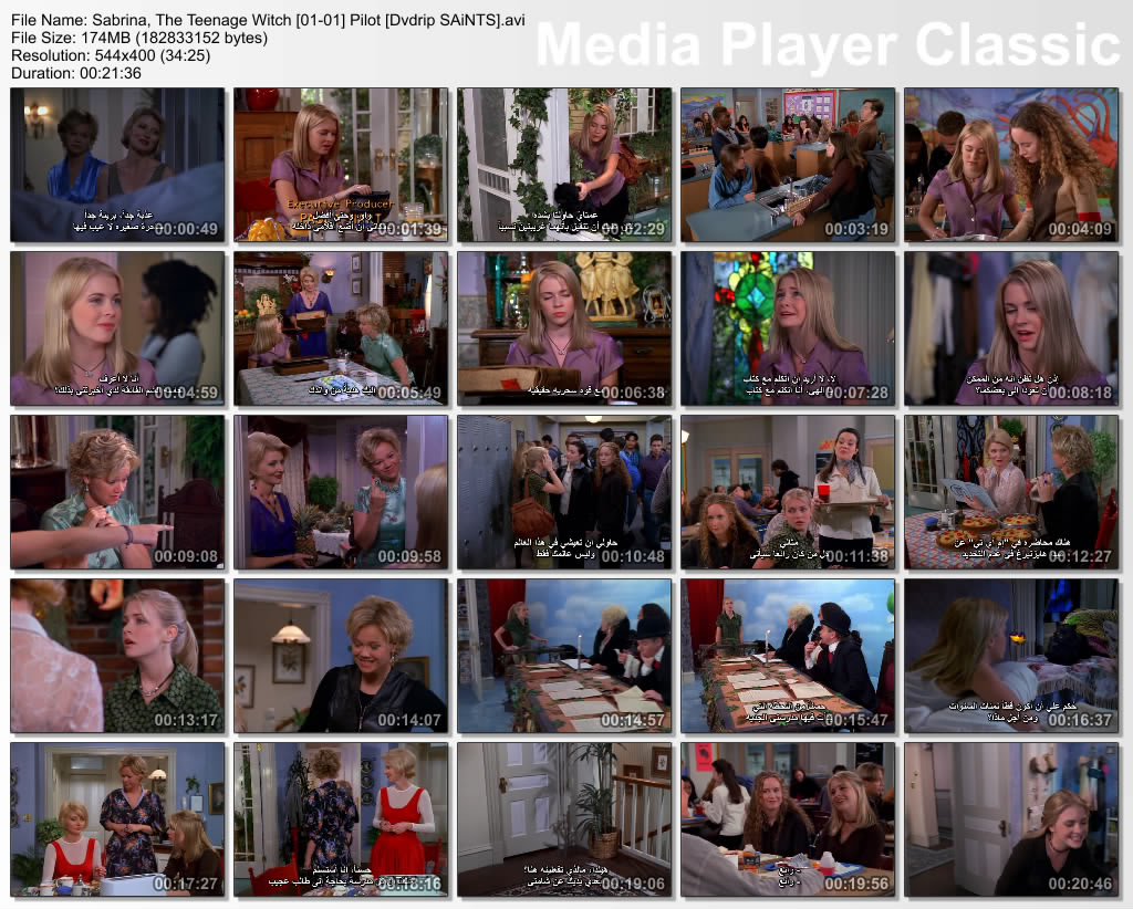 Sabrina, The Teenage Witch (full 7 Seasonz) Thumbz Up Thumbs-Sabrina-s01-epi01