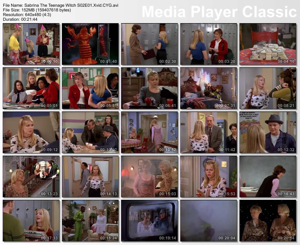 Sabrina, The Teenage Witch (full 7 Seasonz) Thumbz Up Thumbs-Sabrina-s02-epi01