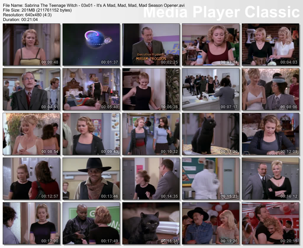 Sabrina, The Teenage Witch (full 7 Seasonz) Thumbz Up Thumbs-Sabrina-s03-epi01