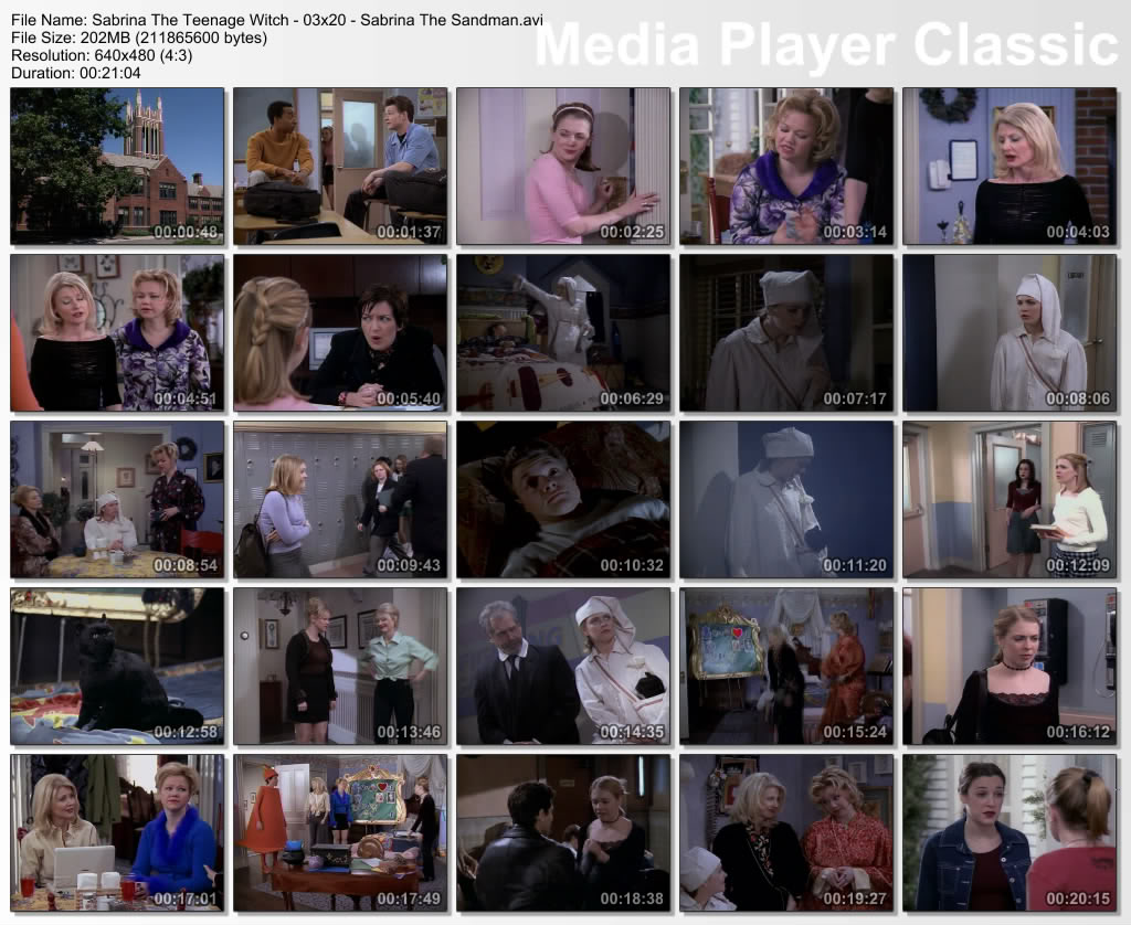 Sabrina, The Teenage Witch (full 7 Seasonz) Thumbz Up Thumbs-Sabrina-s03-epi20