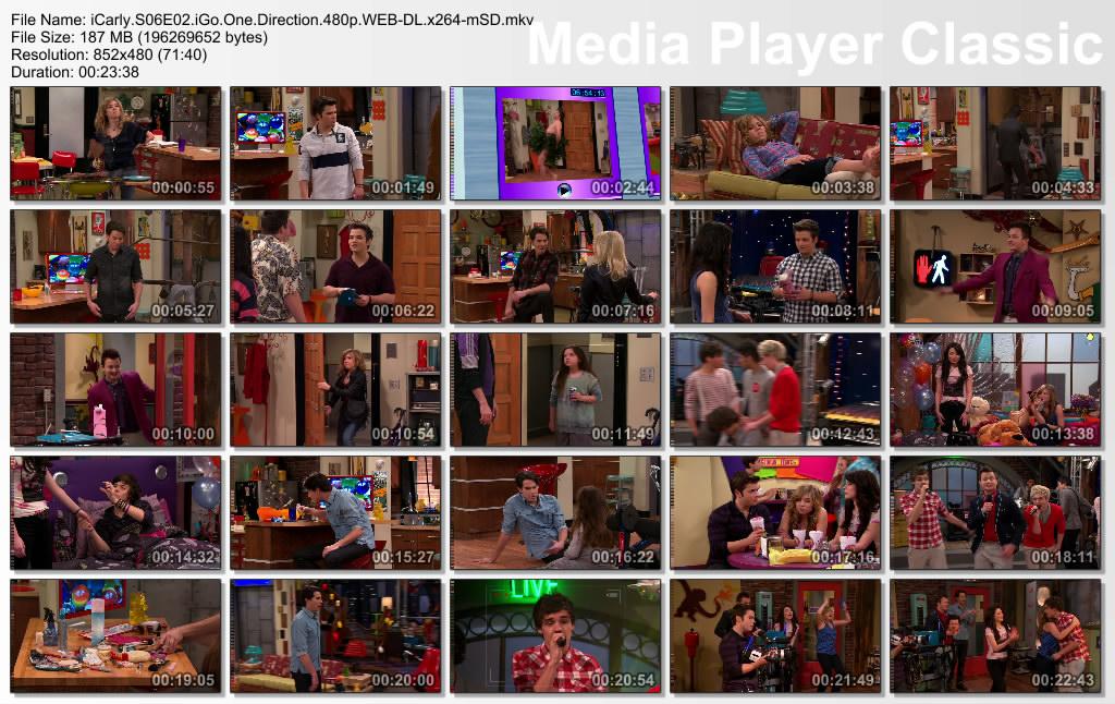 iCarly - Season06, Episode02 - iGo with One Direction Thumbs-iCarlyS06E02