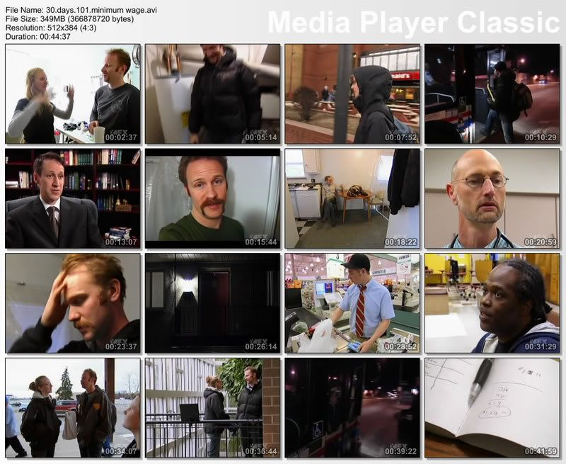 30Days as... (Season01) - Morgan Spurlock Thumbs20080622114250