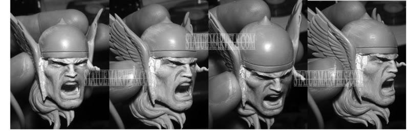 [Bowen Designs] Thor Classic Action Statue - LANÇADO!!!! Fotos: Pag.04 - Página 2 1111thorheadchange