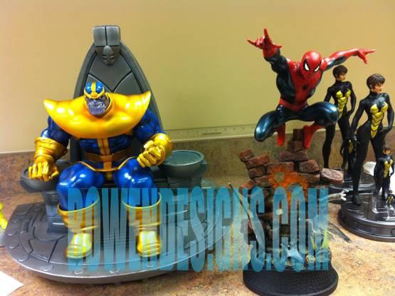 [BOWEN] Thanos on Throne statue (website exclusive) 111sampledesk