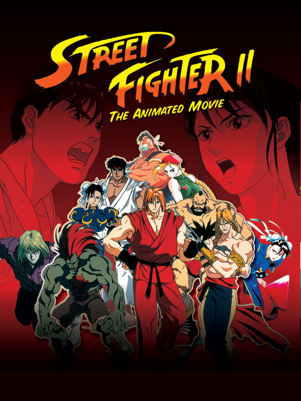 Street Figher II - The Animated Movie (MKV) (English Dubbed) Posterl