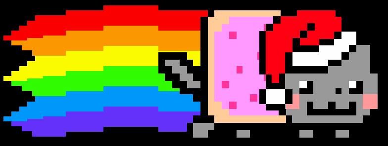 ¡Feliz Navidad a todos! Nyan-cat_navideno_v3