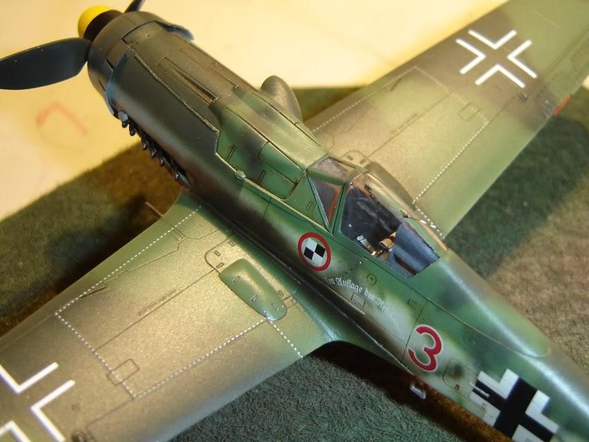"Focke-Wulf Fw 190 D-9 ""Rot 3"" Papagei Staffel, HobbyBoss 1/72 DSC03700"