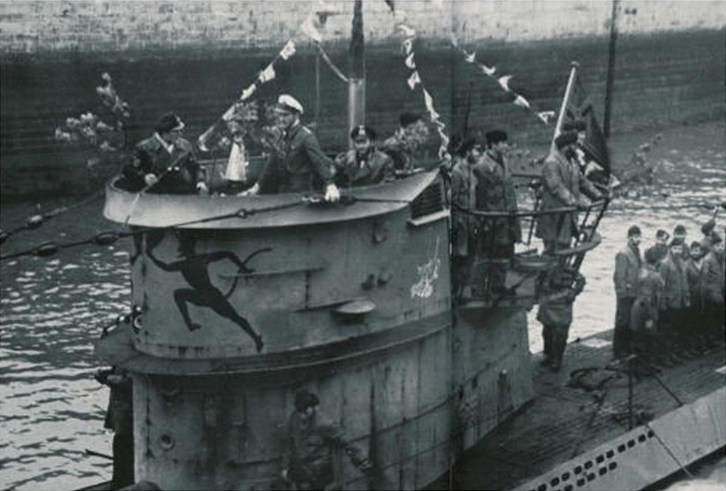 U-Boot T. VIIC U-552, Revell, 1/350 U-552ErichTopp01