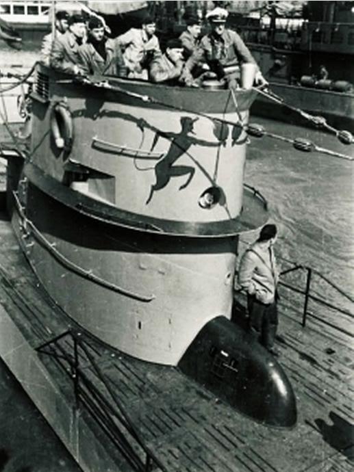 U-Boot T. VIIC U-552, Revell, 1/350 U-552ErichTopp06