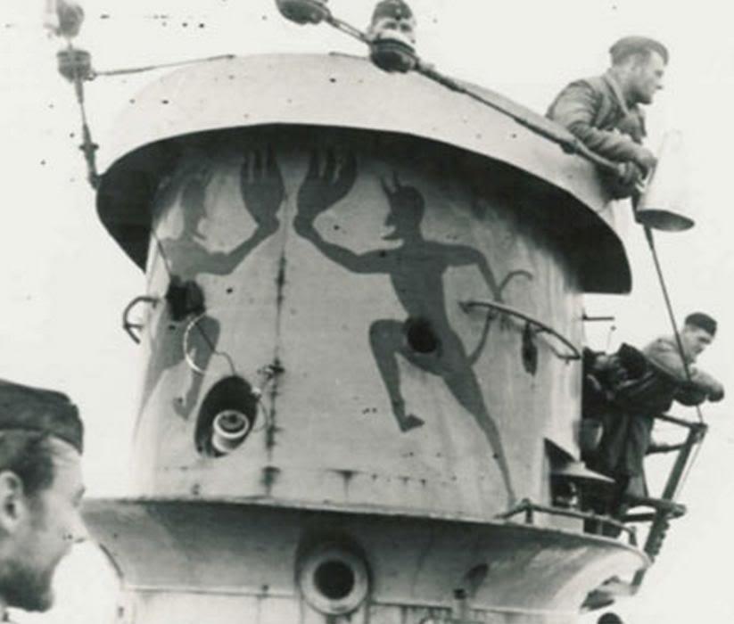 U-Boot T. VIIC U-552, Revell, 1/350 U-552ErichTopp08