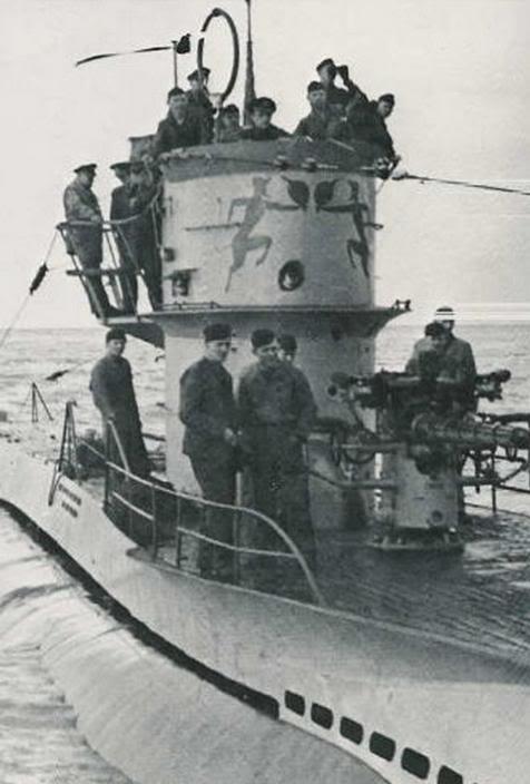 U-Boot T. VIIC U-552, Revell, 1/350 U-552ErichTopp11