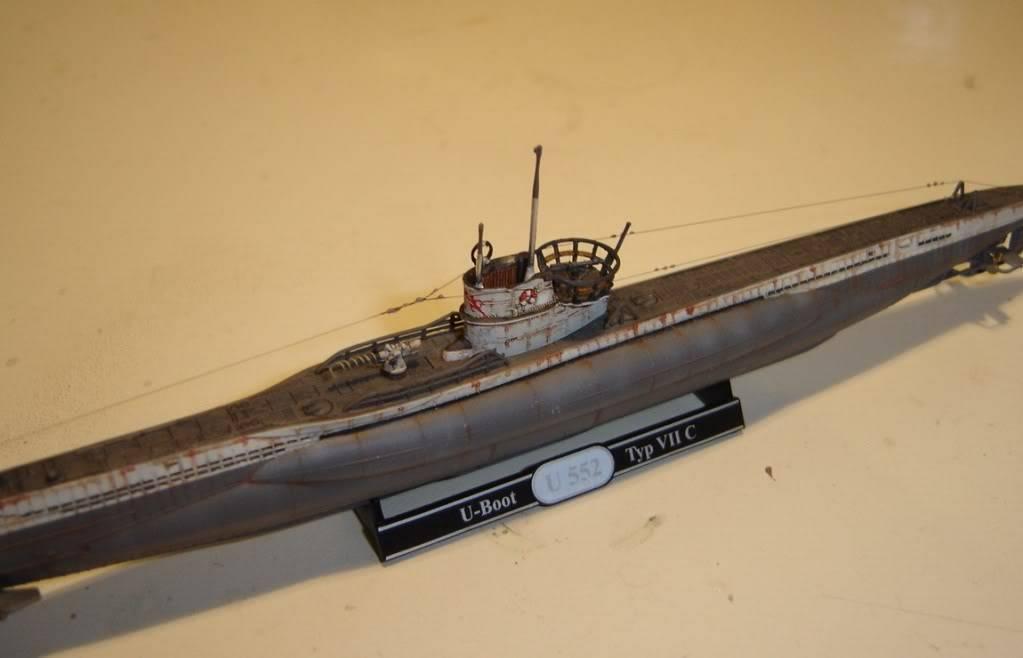 U-Boot T. VIIC U-552, Revell, 1/350 U-BootTypVIICU-552Revell1-35013