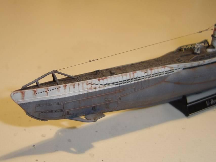 U-Boot T. VIIC U-552, Revell, 1/350 U-BootTypVIICU-552Revell1-35014