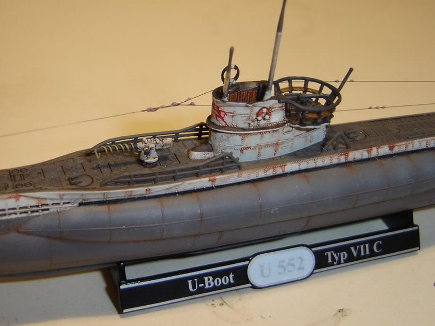 U-Boot T. VIIC U-552, Revell, 1/350 U-BootTypVIICU-552Revell1-35017