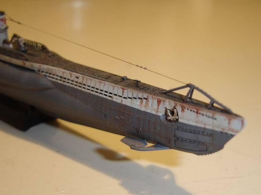 U-Boot T. VIIC U-552, Revell, 1/350 U-BootTypVIICU-552Revell1-35024