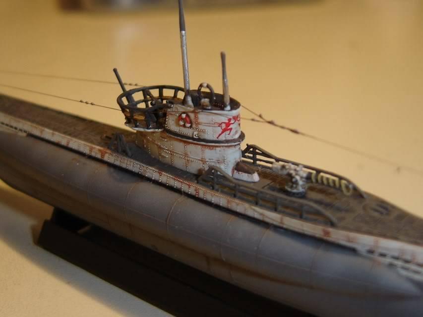 U-Boot T. VIIC U-552, Revell, 1/350 U-BootTypVIICU-552Revell1-35025