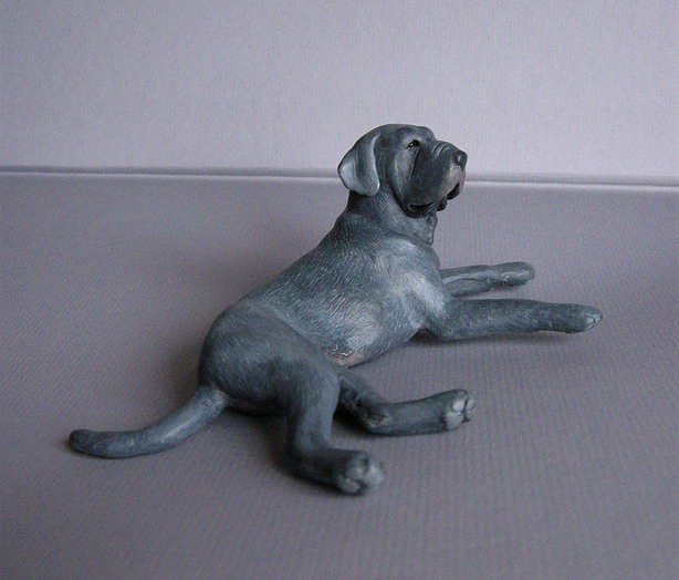 The glorious working Neapolitan mastiff original sculpture by Deseo! IMG_0053