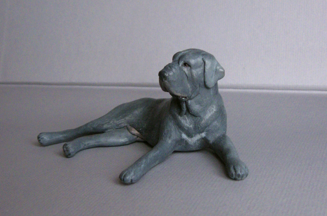 The glorious working Neapolitan mastiff original sculpture by Deseo! IMG_0044