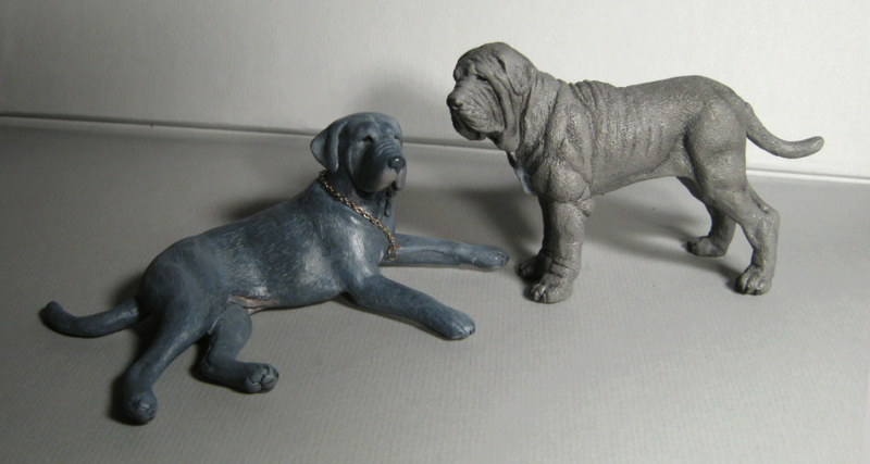 The glorious working Neapolitan mastiff original sculpture by Deseo! IMG_0185