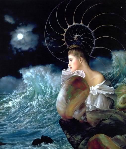 Fantasy art - Page 3 BEAUTIFULMERMAIDSITTINGBYTHESEA