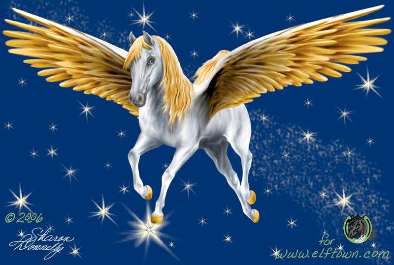 Sky Fire... Light in the Night Pegasus