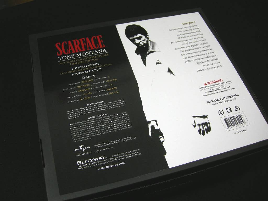 [LANÇAMENTO] Al Pacino - Scarface 1/6 - Blitzway - LANÇADO!!! - Página 3 SF002