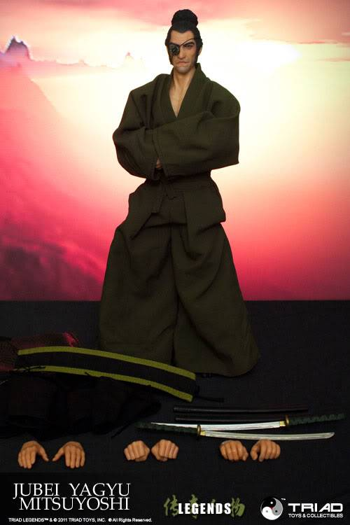 TRIAD TOYS - LEGENDS - JUBEI YAGYU MITSUYOSHI & RIN MATSUDA + WonderCon Exclusive Jym16