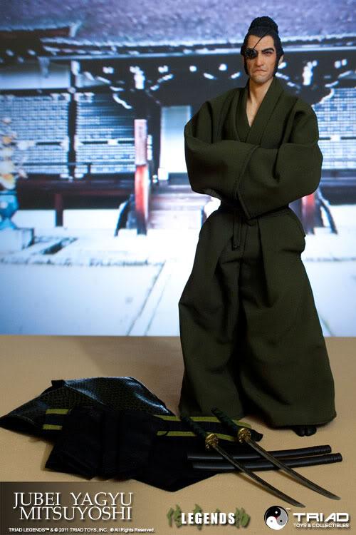 TRIAD TOYS - LEGENDS - JUBEI YAGYU MITSUYOSHI & RIN MATSUDA + WonderCon Exclusive Jym7