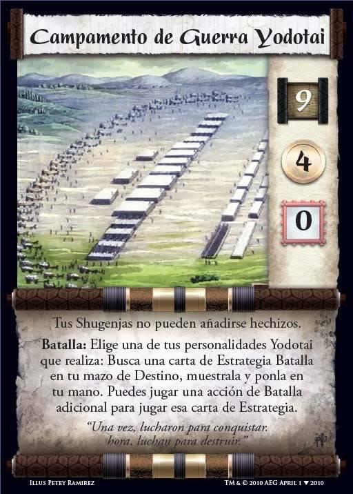 Campamento de Guerra Yodotay [Fortaleza] CampamentodeGuerrayodotay
