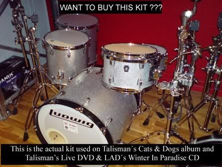 Jamie's drum kit Advert
