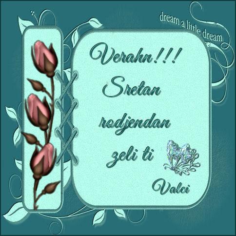 Verahn, sreæan roðendan ... Verahn