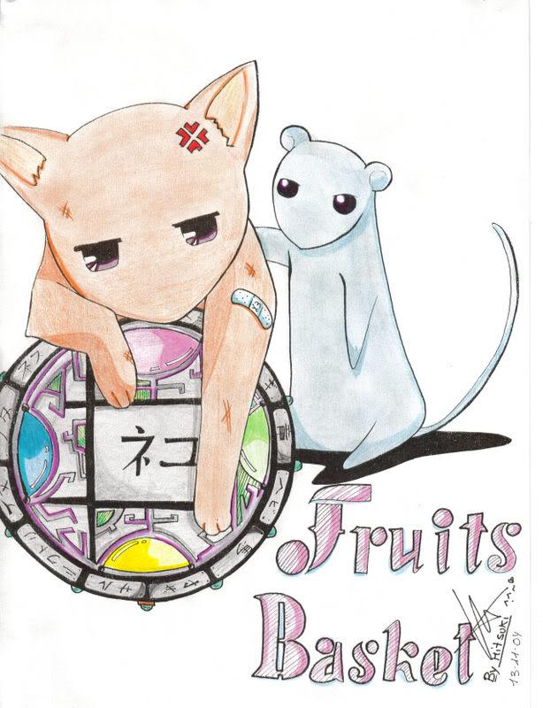 Fanarts Okaa-chwan Yukikyo-fruitsbasket