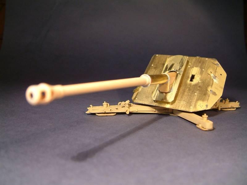 8.8cm Panzerjägerkanone Pak43 (Trumpeter 1:35) DSCF0086