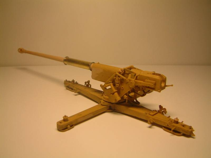 8.8cm Panzerjägerkanone Pak43 (Trumpeter 1:35) DSCF0194