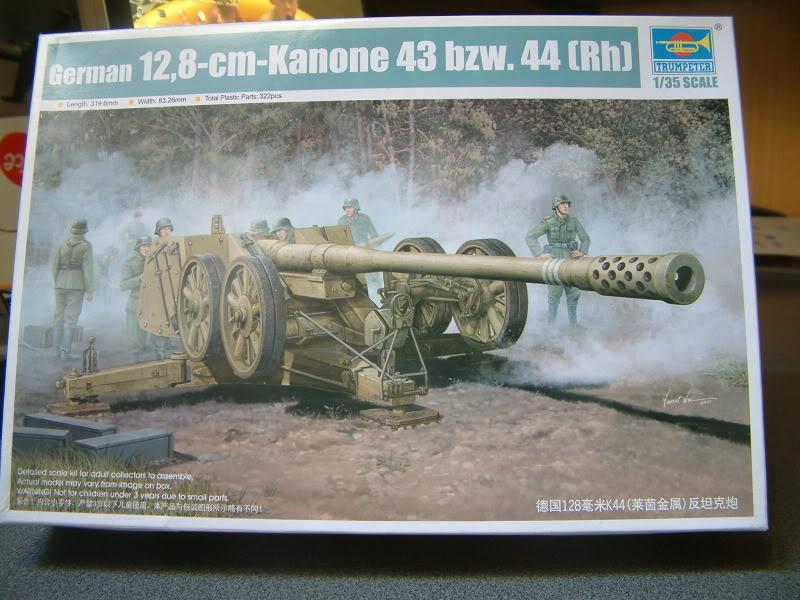 12.8cm Kanone  (Trumpeter 1/35) DSCF0147