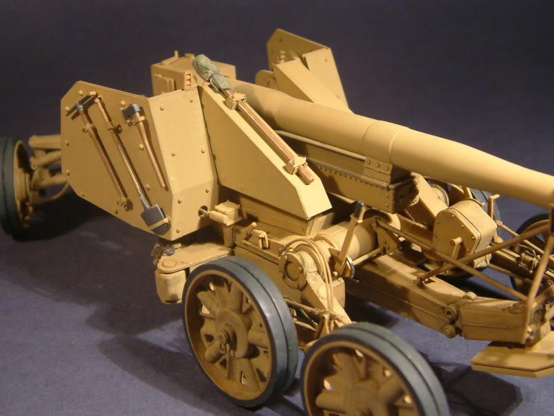 12.8cm Kanone  (Trumpeter 1/35) DSCF0170-1