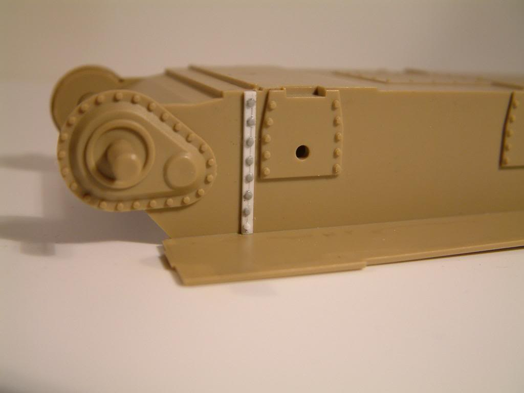 GUN MOTOR CARRIAGE M12 155mm  kit ACADEMY 1/35 DSCF0111