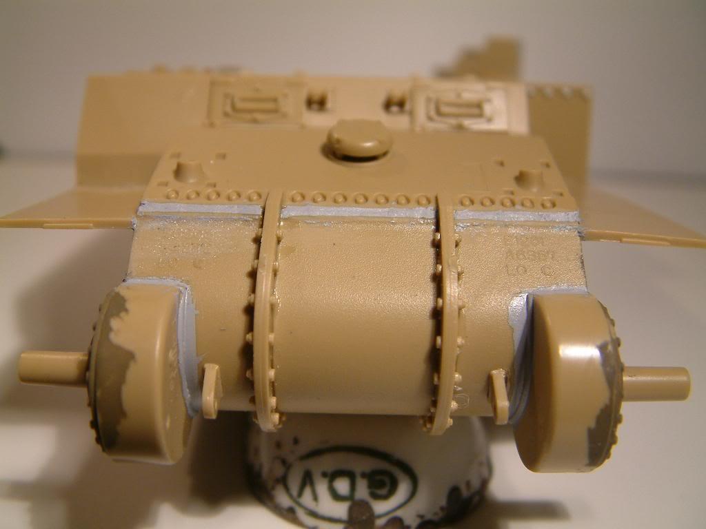 GUN MOTOR CARRIAGE M12 155mm  kit ACADEMY 1/35 DSCF0133