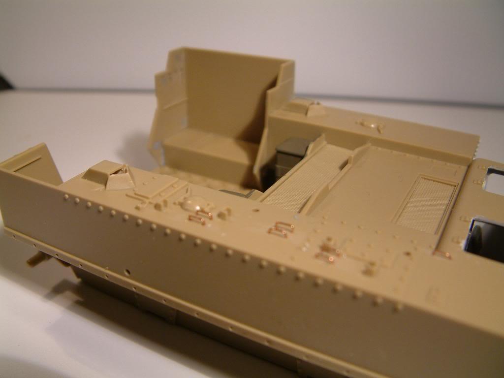 GUN MOTOR CARRIAGE M12 155mm  kit ACADEMY 1/35 DSCF0135