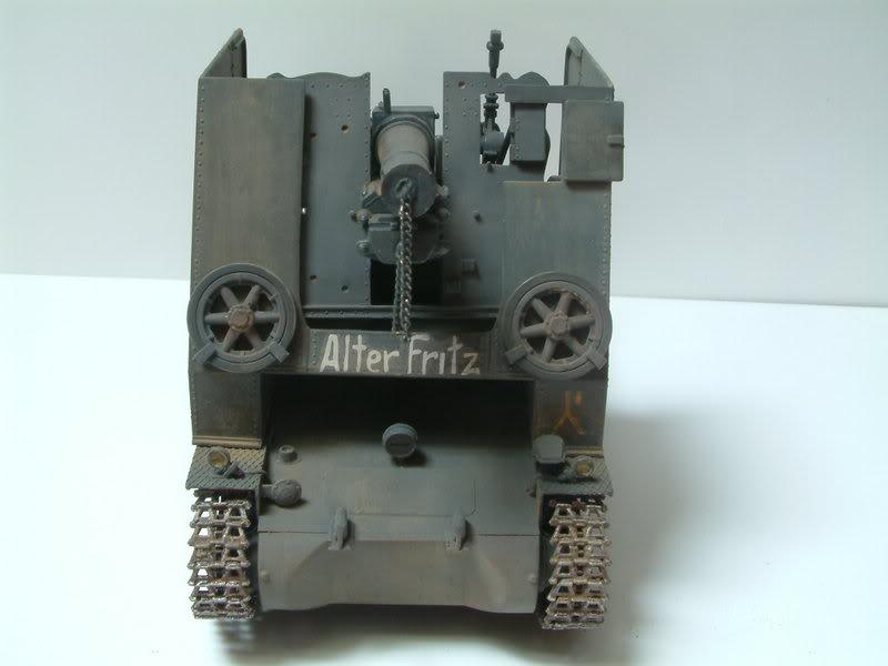 """Sig 33 auf PzKpfw Ausf B """"BISON I""""  kit ALAN 1/35 21-1"""