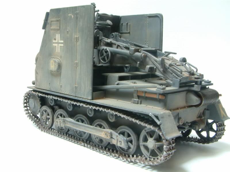 """Sig 33 auf PzKpfw Ausf B """"BISON I""""  kit ALAN 1/35 21-2"""