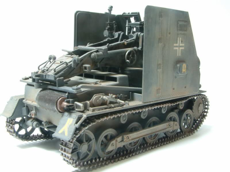 """Sig 33 auf PzKpfw Ausf B """"BISON I""""  kit ALAN 1/35 21-3"""