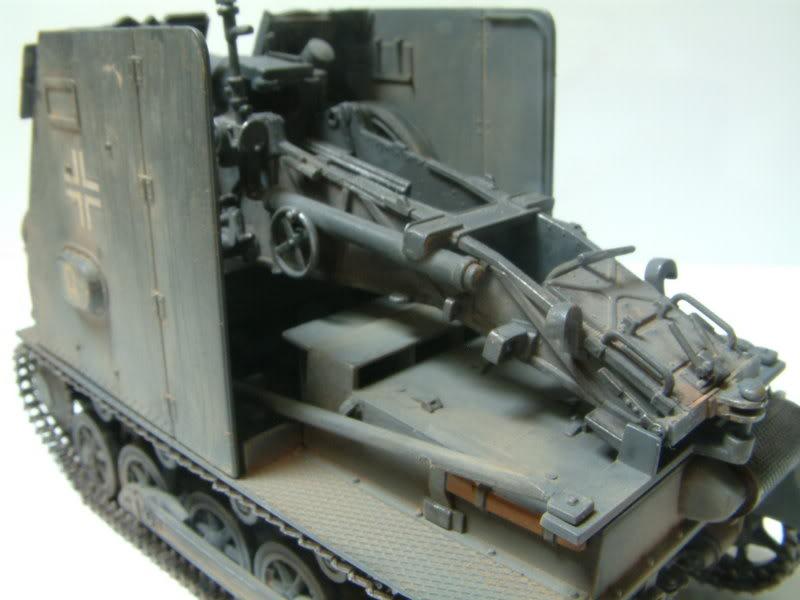 """Sig 33 auf PzKpfw Ausf B """"BISON I""""  kit ALAN 1/35 21-5"""