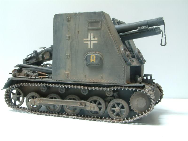 """Sig 33 auf PzKpfw Ausf B """"BISON I""""  kit ALAN 1/35 21"""