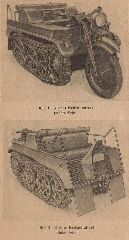 Feu arrière allemand.(feu de convoi) 0_Kettenkrad_20