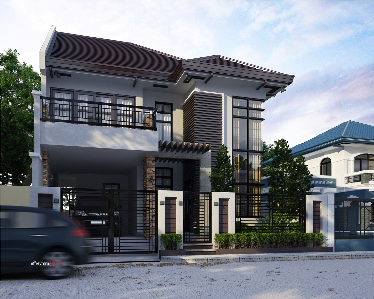 Proposed two storey house for 300 sqm house design philippines