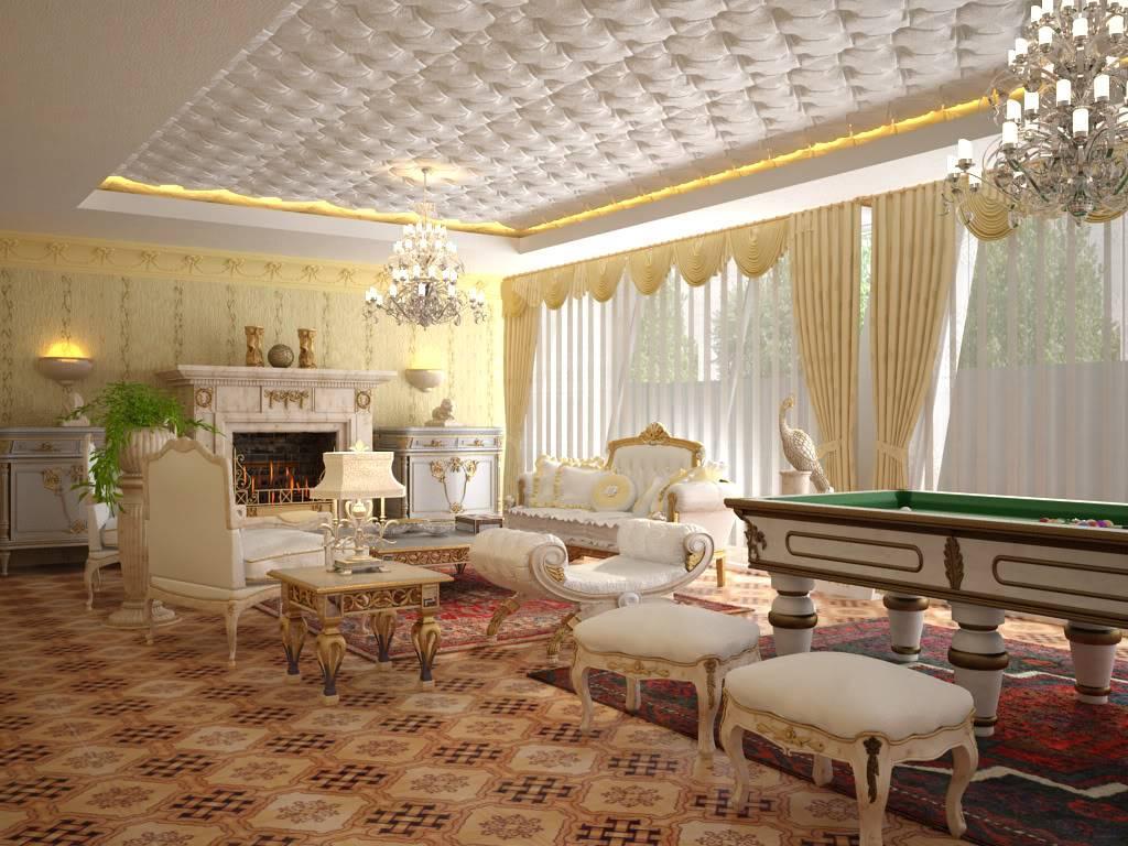 """[Yudiz] """"Classic Living Room"""" [1st Runner-Up Winner] ArchcgChallengebyYudizView1_1"""