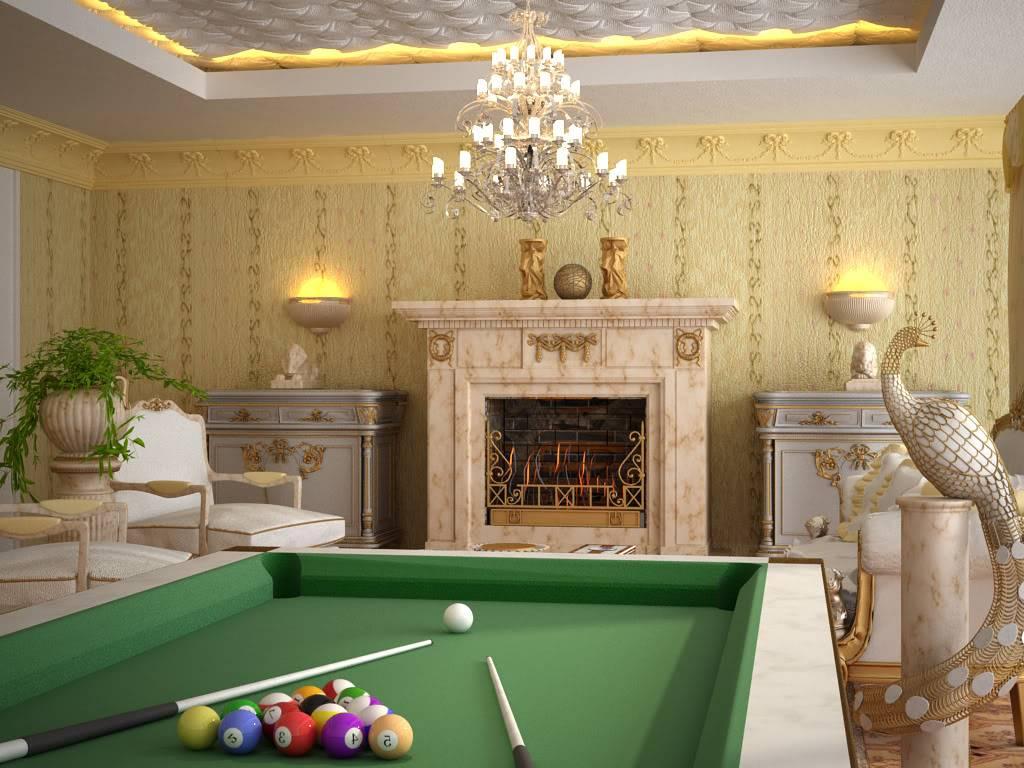 """[Yudiz] """"Classic Living Room"""" [1st Runner-Up Winner] ArchcgChallengebyYudizView2_2"""